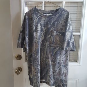 Camouflage mens tee